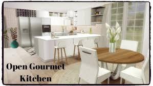 sims kitchen ideas dinha gamer open gourmet kitchen sims 4 downloads sims 4