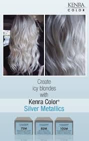 silver blonde color hair toner white hair with kenra silver metallic 10sm google search
