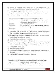 Civil Engineering Resumes Sample Resume For Civil Site Engineer Civil Site Engineer Resume