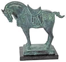 museum replica bronze sculpture tang dynasty horse bronze statue