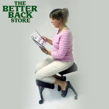 Jobri Kneeling Chair Mccarty U0027s Sacro Ease Posture Correction Backrest And Seat Support