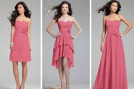 dress for bridesmaid bridesmaid dress guide one color many styles inc maglove