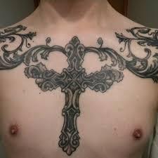 badass cross tattoo cross elbow tattoo on tattoochief com