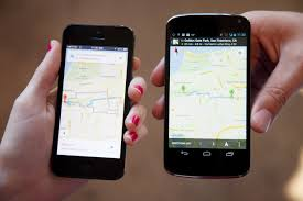 ios for android maps vs maps the ios and android smackdown apple