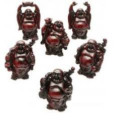 cherry mini happy buddha statues findgift