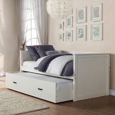 White Daybed With Trundle Amazing White Trundle Daybed With White Daybeds Maposfera Bedding