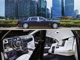 rolls royce limo interior latest rolls royce phantom makes its southeast asian premiere in