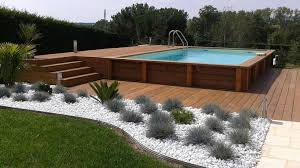 les 25 meilleures idées de la catégorie piscine hors sol bois sur