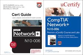 comptia network n10 006 pearson ucertify course and labs and