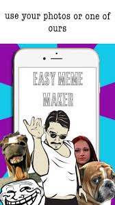 Easy Meme Creator - easy meme maker funny meme creator editor pics on the app store