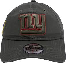 New York Giants Flag New York Giants 2017 On Field Salute To Service Womens Dad Hat