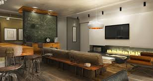 Style Home Decor Industrial Style Home Decor With Meeting Room Decor And Blackboard