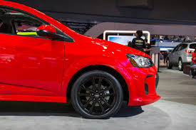 2017 chevy sonic rs package features revealed gm authority