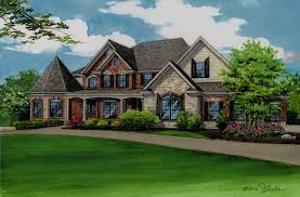 100 european style home plans breconshire house plan 03071