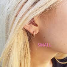 tiny hoop earrings best earring small hoop photos 2017 blue maize
