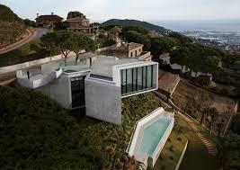 concrete hillside home plans concrete free printable images