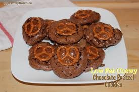 low fat chewy chocolate pretzel cookies 360 family nutrition