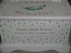 Keepsake Box Personalized Keepsake Chest Memory Box Personalized Blue Cross By Staciedale