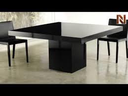 Dining Table Black Glass Modloft Mjk25300 L5v5 Beech Dining Table Black Lacquer Black Glass