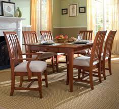 kincaid dining room 7 pc gathering house rectangular trestle table dining room set by