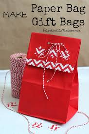 present bags how to make gift bags out of brown paper bags eclectically vintage