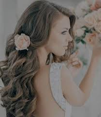 wedding hairstyles for long hair with veil and tiara dfemale