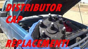 replacing the distributor cap on a 2 8l chevy s10 youtube