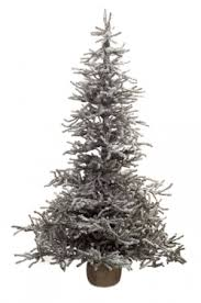 4 foot snowy pine pre lit led artificial tree
