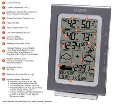 amazon com la crosse technology ws 9020u it intelligent forecast
