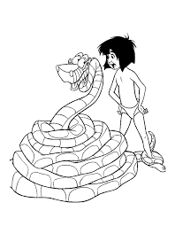 Jungle Book Characters Coloring Pages Getcoloringpages Com Disney Coloring Book Pages