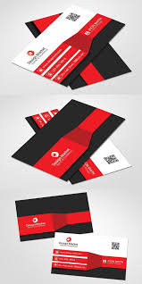 creative business card template medical infographic 6 00