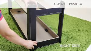 Furinno Laptop Desk by How To Assemble Furinno 12125 Parsons Entertainment Center Tv