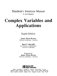 student u0027s solution manual to complex variables and applications 8th ed