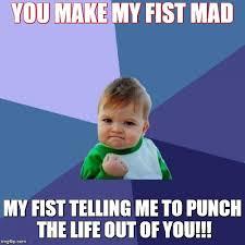 Mad Kid Meme - success kid meme imgflip