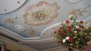 soffitti dipinti soffitto insolito soffitti dipinti utilizzando stini