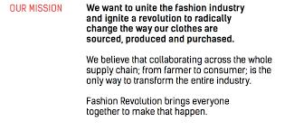 fashion revolution brand guide u2014 one a kind sustainability