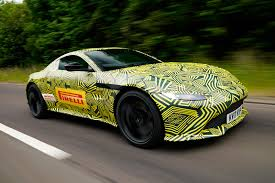 chrome aston martin the new 2018 aston martin vantage revealed in pictures by car magazine