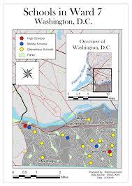 Washington Dc Ward Map by Brad Husemann Gis Blog February 2016