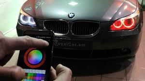 eye bmw headlights bmw color changing headlights