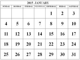 january calendar clipart