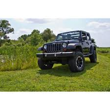 lowered 4 door jeep wrangler jks manufacturing ec100k wrangler jk suspension lift kit 3 1 2