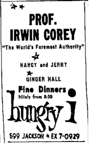 Professor Fined 1 500 For Anti Semitic And Television Showbiz An With The Professor Irwin Corey