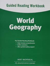 world geography guided reading workbook holt mcdougal