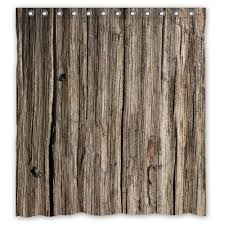 Shower Curtains Rustic Different Look With Rustic Shower Curtains Curtain Set Bendable