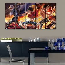 Home Decoratives Sel 5 Pcs Modern Decorative One Piece Cuadros Painting Canvas