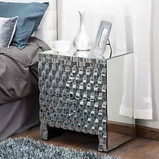 mirrored nightstand ebay
