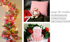 Decoration Christmas Blog by Homemade Indoor Christmas Decorations Improvements Blog