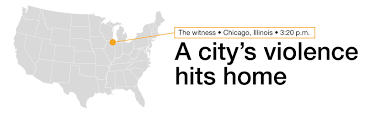 Chicago Tribune Crime Map by A City U0027s Violence Hits Home Cnn Com