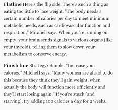 can u0027t lose weight must be starvation mode eat more fatlogic