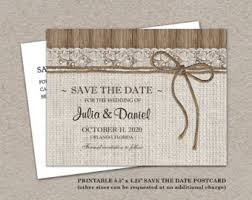 Rustic Save The Date 6 Best Images Of E Save The Dates Rustic Save The Date Postcard